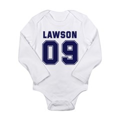 Lawson 09 Long Sleeve Infant Bodysuit