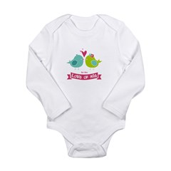 For the Love of Nie Infant Onesie Long Sleeve Infant Bodysuit