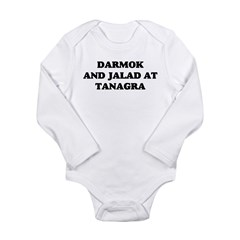 Darmok Jalad Long Sleeve Infant Bodysuit