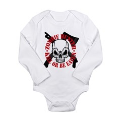 Zombie Long Sleeve Infant Bodysuit