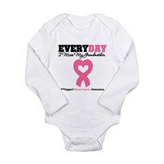 BreastCancerMissGrandmother Long Sleeve Infant Bodysuit