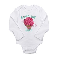 Birthday Girl Long Sleeve Infant Bodysuit