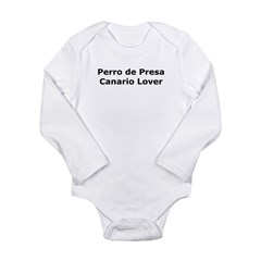 Perro-de-Presa-Canario-Lover Long Sleeve Infant Bodysuit