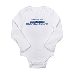 Occupational Therapist Mom Long Sleeve Infant Bodysuit