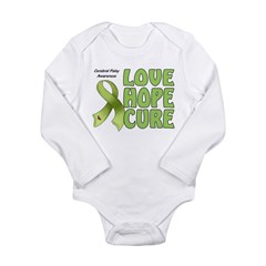 Cerebral Palsy Awareness Long Sleeve Infant Bodysuit
