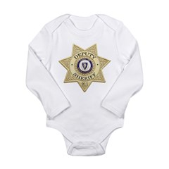 Massachusetts Deputy Sheriff Long Sleeve Infant Bodysuit
