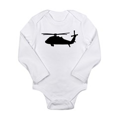 blackhawk Long Sleeve Infant Bodysuit