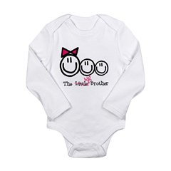 Big Brother (Middle, gbb) Long Sleeve Infant Bodysuit