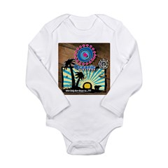 Oceanic Airlines Long Sleeve Infant Bodysuit