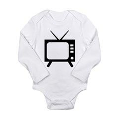 TV Long Sleeve Infant Bodysuit