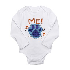 my-blueback Long Sleeve Infant Bodysuit