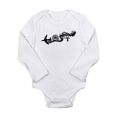 Lost Icons Long Sleeve Infant Bodysuit
