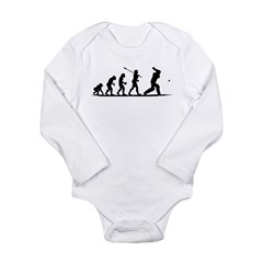Cricket Long Sleeve Infant Bodysuit