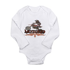 Motokid Long Sleeve Infant Bodysuit
