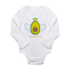 Holy Guacamole! Long Sleeve Infant Bodysuit