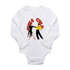 Cha Cha Long Sleeve Infant Bodysuit