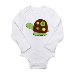 Laguna Turtle Long Sleeve Infant Bodysuit