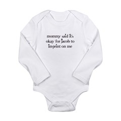 Breaking Dawn Long Sleeve Infant Bodysuit