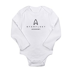 Starfleet Academy Long Sleeve Infant Bodysuit