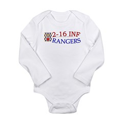 2nd Bn 16th Infantry Long Sleeve Infant Bodysuit