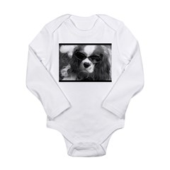 Movie Star Cavalier Long Sleeve Infant Bodysuit