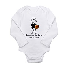 Big Cousin to be Long Sleeve Infant Bodysuit