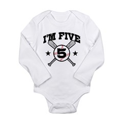 5 Year Old Long Sleeve Infant Bodysuit