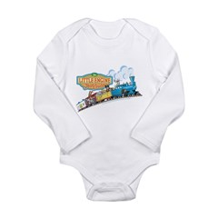 Little Engine That Could Long Sleeve Infant Bodysuit
