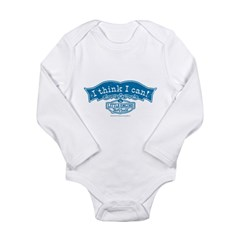 I Think I Can Arch Vintage Long Sleeve Infant Bodysuit