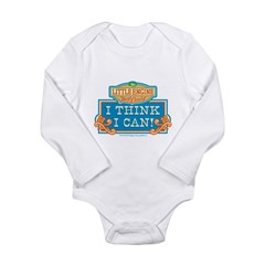 I Think I Can Color Long Sleeve Infant Bodysuit
