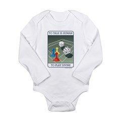 B-Games Divine - Long Sleeve Infant Bodysuit