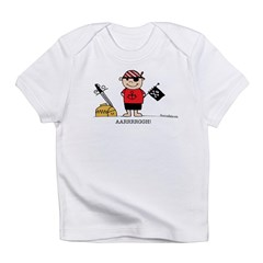 Pirate Boy 1 Infant T-Shirt