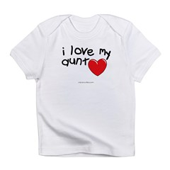 I Love My Aunt Infant Creeper Infant T-Shirt