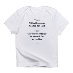 Intelligent Design Extinction Infant Creeper Infant T-Shirt