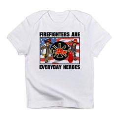 Firefighter Heroes Infant T-Shirt