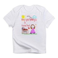 Teacher Mommy! Infant T-Shirt