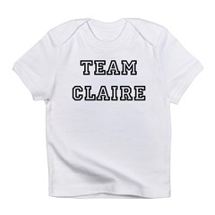 TEAM CLAIRE Infant Creeper Infant T-Shirt