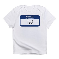 Hello: Ted Infant T-Shirt