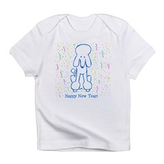 Happy New Year Poodle Infant T-Shirt