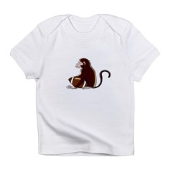 Football Monkey Infant T-Shirt