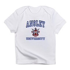 ANSLEY University Infant T-Shirt