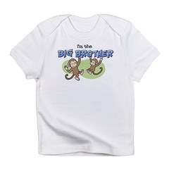 Big Brother (Monkey) Infant T-Shirt