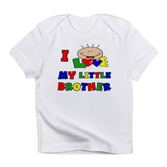 Love My Little Brother BRIGHT Infant T-Shirt