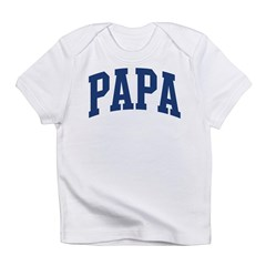 PAPA design (blue) Infant T-Shirt