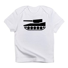 Tank Crossing Infant T-Shirt