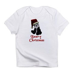 Bear-y Christmas Panda Infant T-Shirt