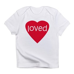 Red Loved Infant T-Shirt