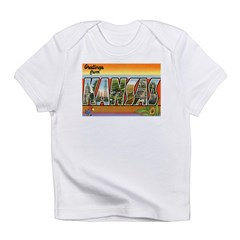 Greetings from Kansas Infant T-Shirt