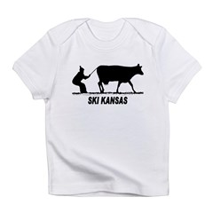 Ski Kansas Infant T-Shirt
