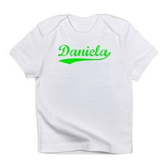 Vintage Daniela (Green) Infant T-Shirt